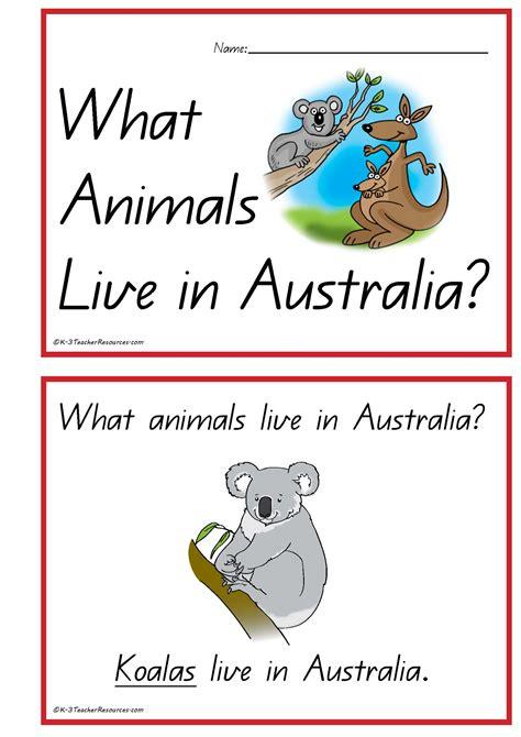 australian picture books australian animals concept book