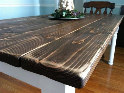 how to build a dining room table how to build a vintage style dining room table yourself