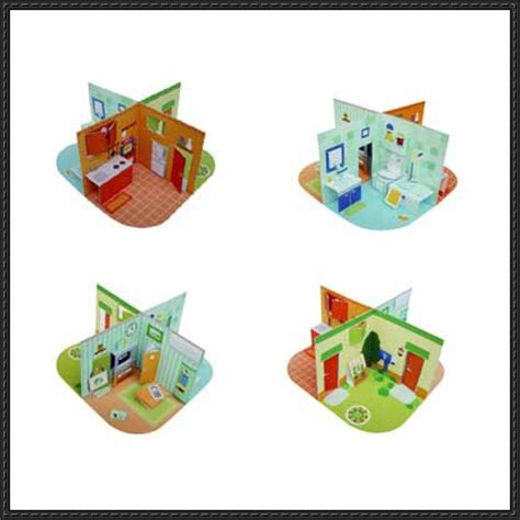 free paper crafts dollhouse papercraftsquare free papercraft