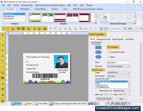 make student id card free createidcardbadges introduces student id cards maker