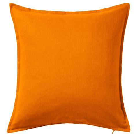 orange cusions gurli cushion cover orange 50x50 cm ikea