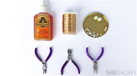 diy jewelry supplies 3 fashionable diy wire jewelry tutorials