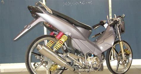 Modifikasi Motor Racing by 100 Modifikasi Motor Honda Supra X Motor Racing
