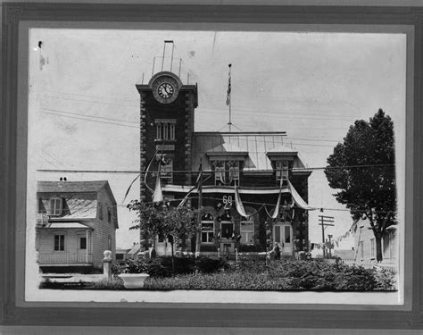 bureau de poste de roberval le 1juillet 1927 photos