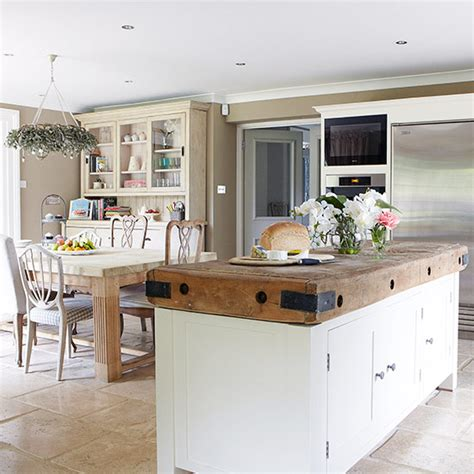 country kitchen diner ideas open plan kitchen design ideas ideal home