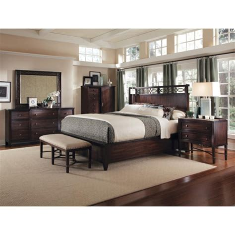 king size bed room set intrigue shelter 5 king size bedroom set by a r t