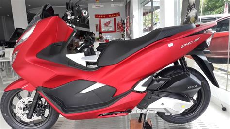 Pcx 2018 Modif Spion by Honda Pcx 150 Warna Merah 2018