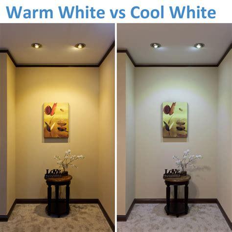 warm white vs cool white led lighting