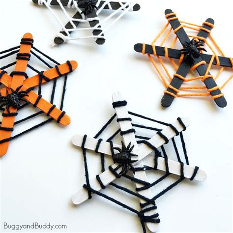 how to make a spider web craft for spider web craft for buggy and buddy