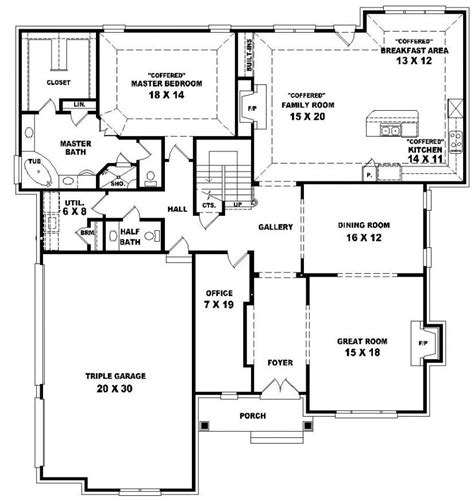 4 bedroom 2 story house plans 654021 two story 4 bedroom 3 5 bath traditional style