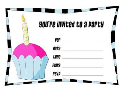 how to make a birthday invitation card free printable birthday invitations make your own invitation