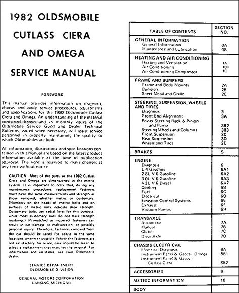 car repair manuals online free 1995 oldsmobile cutlass supreme head up display service manual online repair manual for a 1995 oldsmobile ciera 1995 olds cutlass ciera