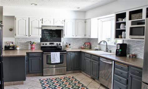 gray and white kitchen cabinets grey kitchen cabinets grey and white kitchen cabinet