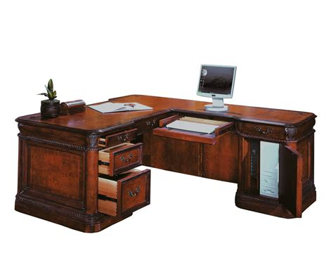 office l shaped desk the cheshire home office l shaped desk set 2837