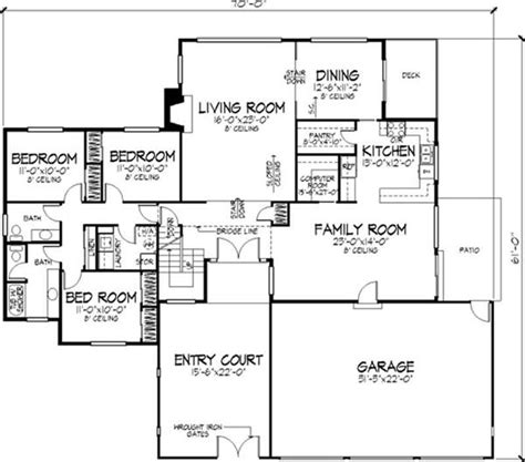 modern houses floor plans small modern house plans one floor 2016 cottage house plans
