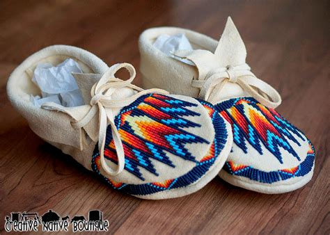 beaded moccasins and moccasins 4 baby child on baby moccasins