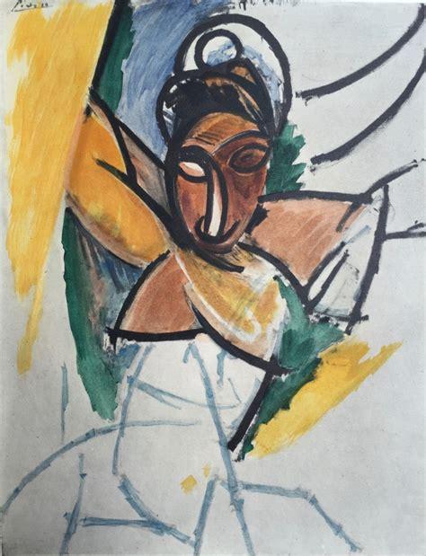 picasso paintings les demoiselles pablo picasso donna studio per les demoiselles d avignon