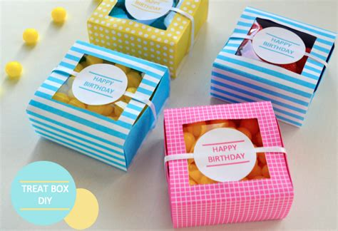 origami treat box treat box diy with free printable they so loved events