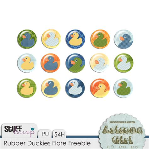 month rubber sts scrapingarizonagirl new release freeibe for rubber duckies