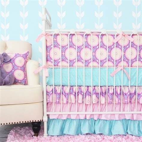 purple nursery bedding sets the best colors in crib bedding for caden
