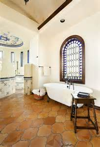 Bathroom Ceramic Tile Ideas 20 interiors that embrace the warm rustic beauty of