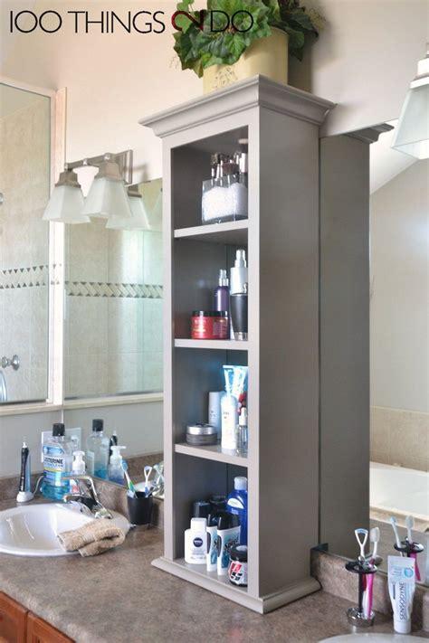Bathroom Vanity Storage Ideas by 25 Best Ideas About Bathroom Vanity Storage On
