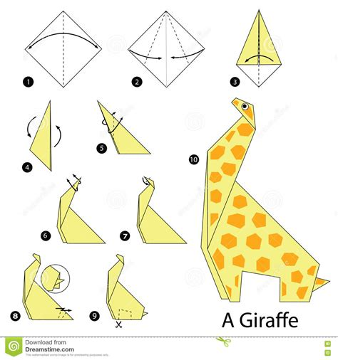 how to make origami giraffe step by step how to make origami a giraffe