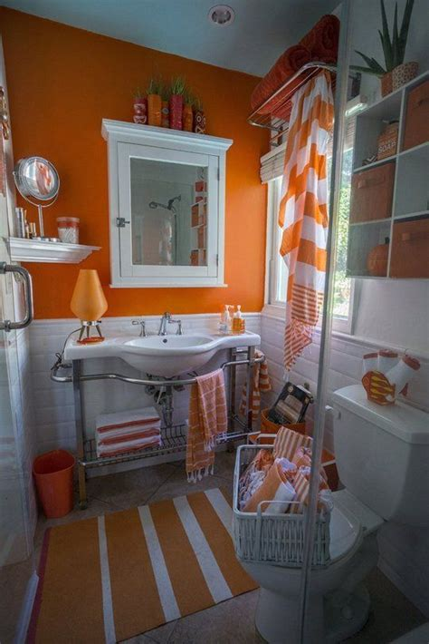 orange bathroom ideas the 25 best ideas about orange bathroom decor on
