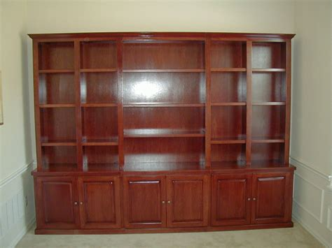 custom wall bookshelves bookcases fiorenza custom woodworking