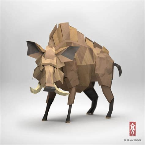 3d origami animals 3d origami illustrations of animals by kool