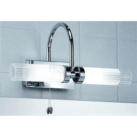 chrome bathroom lights franklite wb535 chrome mirror bathroom light at