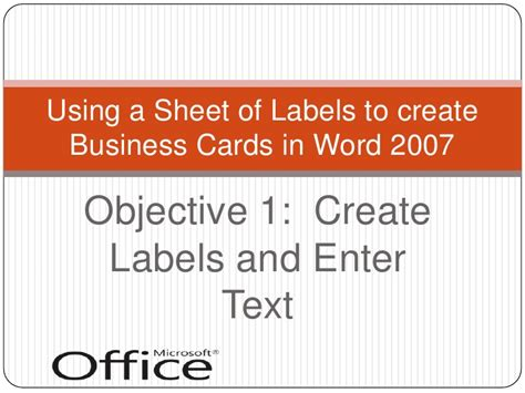 how to make business cards in word 2007 how do i make business cards in word 28 images avery