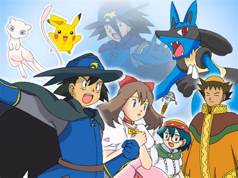 lucario and the mystery of mew lucario nd the mystery of mew by enemyexit on deviantart