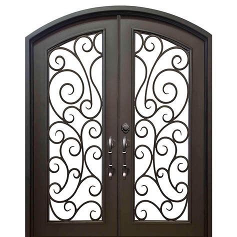 Florida Iron Doors 74 In X 82 In Eyebrow Lauderdale