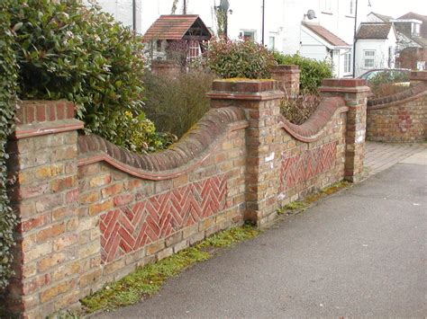 garden walls designs brick boundary wall with grill search boundary