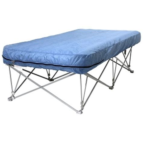 air mattress beds with frame great guest air bed on stand with legs on