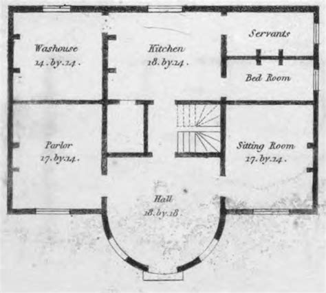 19th century floor plans 19th century historical tidbits 1835 house plans