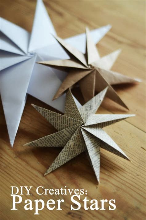 diy paper origami 20 hopelessly adorable diy ornaments made from
