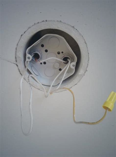 ceiling box light installing in wall light junction box installing free