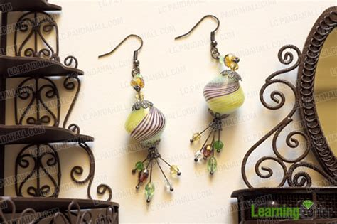 make jewelry at home for a company how to make glass jewelry at home dangling diy beaded