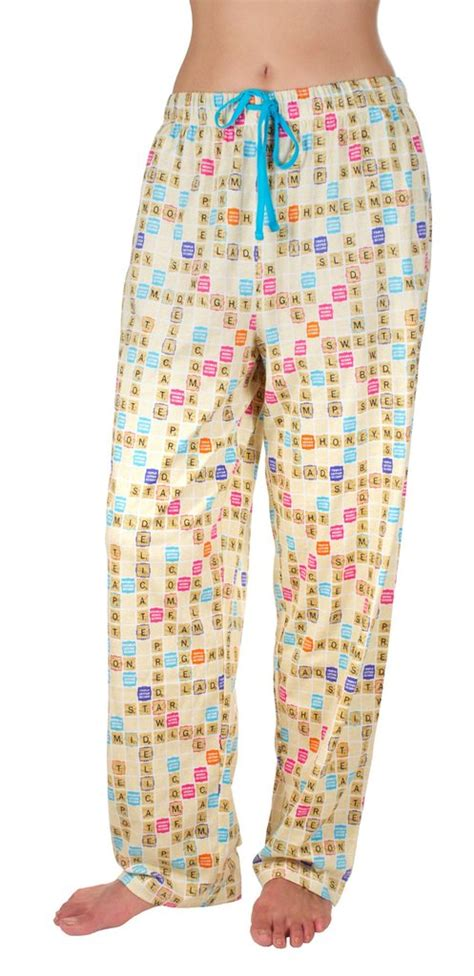 scrabble pajamas scrabble s pajama free shipping
