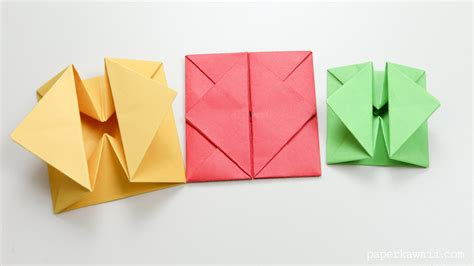 origami of origami envelope box paper kawaii