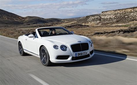 Bentley Continental Gtc by Bentley Continental Gtc V8 2012 Widescreen Car