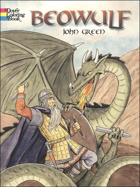 beowulf picture book dover coloring book