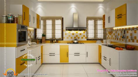new house kitchen designs kerala home design floor plans interior design cochin