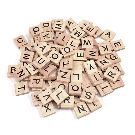 wooden scrabble tiles for crafts 200 x high quality scrabble tiles letters tile craft 2