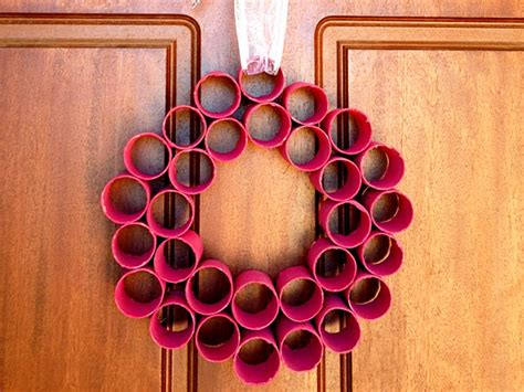 home decorating made easy decorations paper roll wreath
