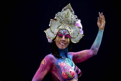the painting festival world bodypainting festival photos pictures from austria