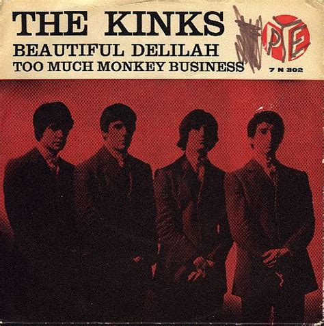the kinks picture book lyrics beautiful much monkey business