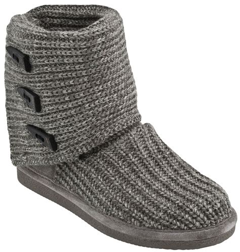 bearpaw knitted boots bearpaw knit boots planetshoes